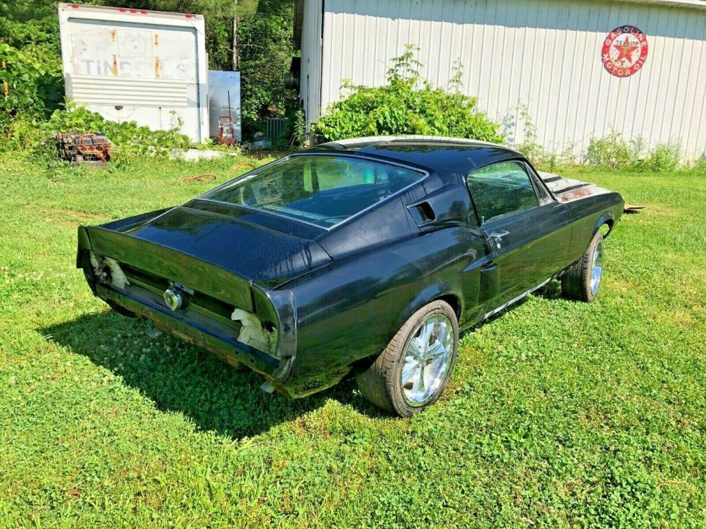 super solid 1968 Ford Mustang Fastback 428 project